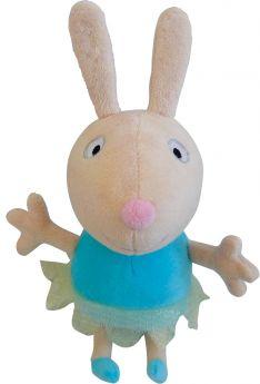"""Peppa Pig, Мягкая игрушка """"Кролик Ребекка балерина"""" 20 см"""