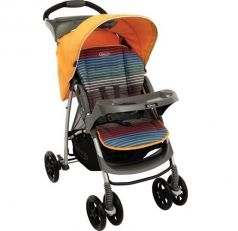 Graco Прогулочная коляска Mirage + W Parent tray and boot (Jaffa stripe)