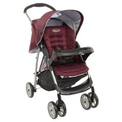 Graco Прогулочная коляска Mirage + W Parent tray and boot (Plum)