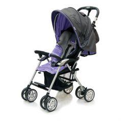 Jetem Прогулочная коляска Elegant (Dark Grey/Purple, полоска)