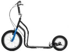 Yedoo Самокат 2-х колесный City New черный/синий