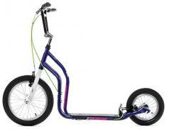 Yedoo Самокат 2-х колесный City New фиолетовый/белый
