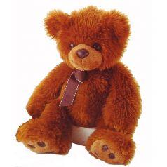 AURORA, Игрушка мягкая Медведь тёмно-коричневый 70 см