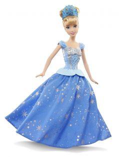 Mattel, Disney Princess Кукла-принцесса Золушка с развевающейся юбкой