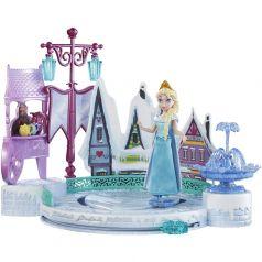 Mattel Кукла Эльза с катком и аксессуарами