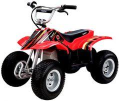 Razor, Электроквадроцикл Dirt Quad (черно-красный)
