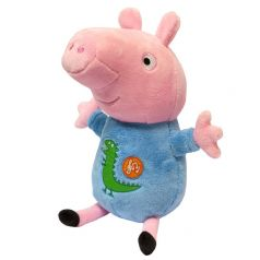 """Peppa Pig Мягкая игрушка """"Джордж"""" озвученный, 25 см"""