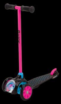 Razor, Самокат трехколесный T3 (розовый)