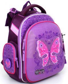 Hummingbird Школьный рюкзак ТК с мешком для обуви (фиолетовый)