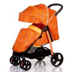 Babyhit Прогулочная коляска Racy (оранжевая с кругами)