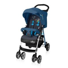Baby Design Прогулочная коляска MINI NEW 03 (голубая)