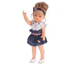 Munecas Antonio Juan Кукла Белла в синем платье, 45 см