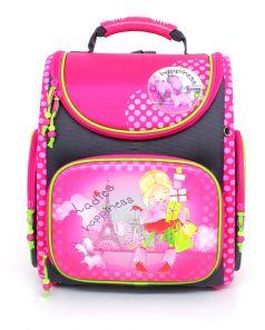 Hummingbird Ранец школьный K для девочки с мешком для обуви (розовый)