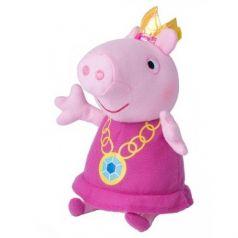 Peppa Pig, Мягкая игрушка Пеппа-принцесса, 20 см