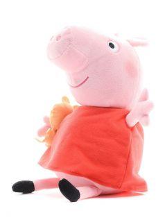 Peppa Pig, Мягкая игрушка Пеппа с игрушкой, 40см