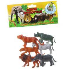 Bondibon, Набор животных Ребятам о Зверятах Дикие животные 6 штук