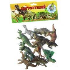Bondibon, Набор животных Ребятам о Зверятах Динозавры 12 штук