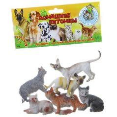Bondibon, Набор животных Ребятам о Зверятах Кошки 6 штук