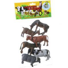 Bondibon, Набор животных Ребятам о Зверятах Домашние животные 6 штук