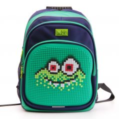 4ALL Рюкзак Kids (зеленый, синий)