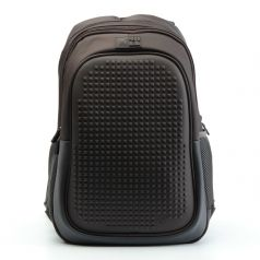 4ALL Рюкзак Case + пиксели (темно-коричневый)