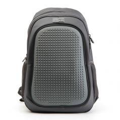 4ALL Рюкзак Case + пиксели (темно-серый)