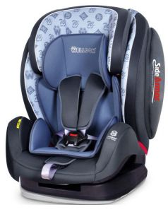 Welldon Автокресло Encore SideArmor & CuddleMe Alphabet Blue
