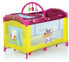 Babies Манеж-кровать BP-695I с дугой (желтый)