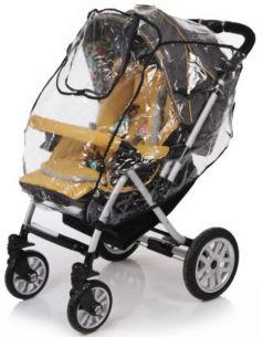Baby Care, Дождевик для прогулочной коляски с окошком на липучке
