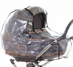 Baby Care, Дождевик для коляски-люльки с окошком на липучке
