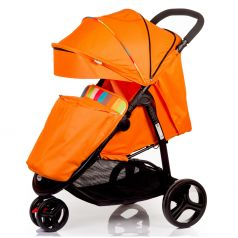 Babyhit Прогулочная коляска Trinity (оранжевая с полосками)