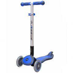 Y-Scoo Самокат 3-х колесный GLOBBER 446-100 ELITE S My Free Fold up DARK BLUE