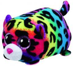 TY Мягкая игрушка Teeny Tys Леопард Jelly 10 см