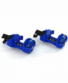 Moby Kids Ролики двухколесные светящиеся (синие)