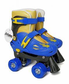 Moby Kids Роликовые коньки-квады (синий/желтый)