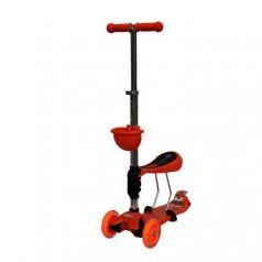 Babyhit Самокат 3-х колесный ScooterOK Tolocar Orange (оранжевый)
