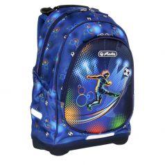 Herlitz Школьный рюкзак Bliss для мальчика, без наполнения Soccer
