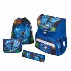Herlitz Школьный ортопедический рюкзак Loop Plus с наполнением Soccer