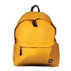 BRAUBERG Рюкзак универсальный сити-формат желтый