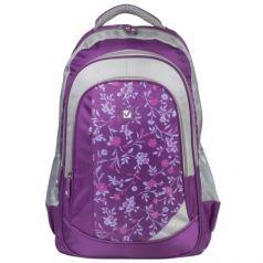 BRAUBERG Рюкзак для ст.классов/студентов/молодежи 25 литров Цветочный узор