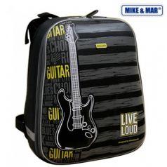 Mike&Mar Ранец Гитара (серый/желтый)