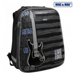 Mike&Mar Ранец школьный Гитара (серый/синий)