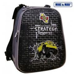 Mike&Mar Ранец школьный Стратегия (черный)