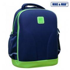 Mike&Mar Ранец школьный (синий/зеленый)