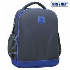 Mike&Mar Ранец школьный (серый/синий)