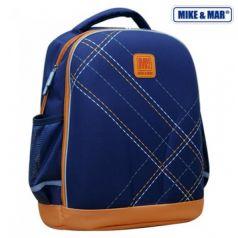 Mike&Mar Ранец школьный (синий/оранжевый)