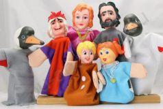 Жирафики Кукольный театр Гуси-лебеди 7 кукол