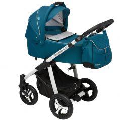 Baby Design Коляска 2 в 1 Lupo Comfort 2017 05 Turquoise
