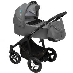 Baby Design Коляска 2 в 1 Lupo Comfort 2017 07 Graphite