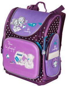 Hummingbird Ранец школьный NК с мешком для обуви фиолетовый